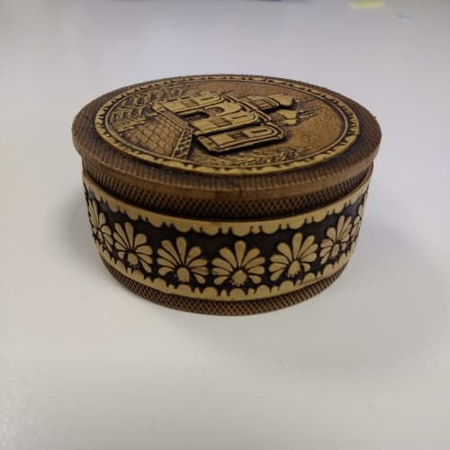 Small Engraved Birch Box