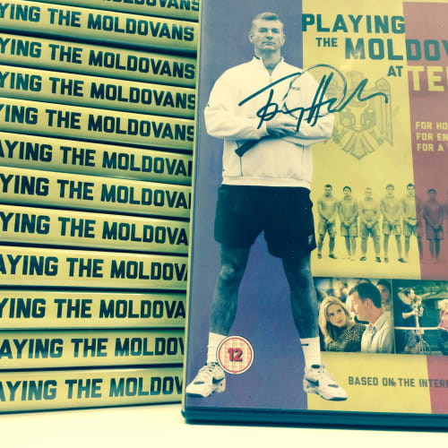 Playing the Moldovans at Tennis DVD