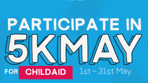 Run, walk or cycle during May and support ChildAid